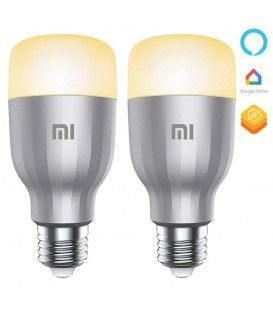 Pack x2 Bombilla Inteligente Xiaomi Mi LED Smart Bulb RGB